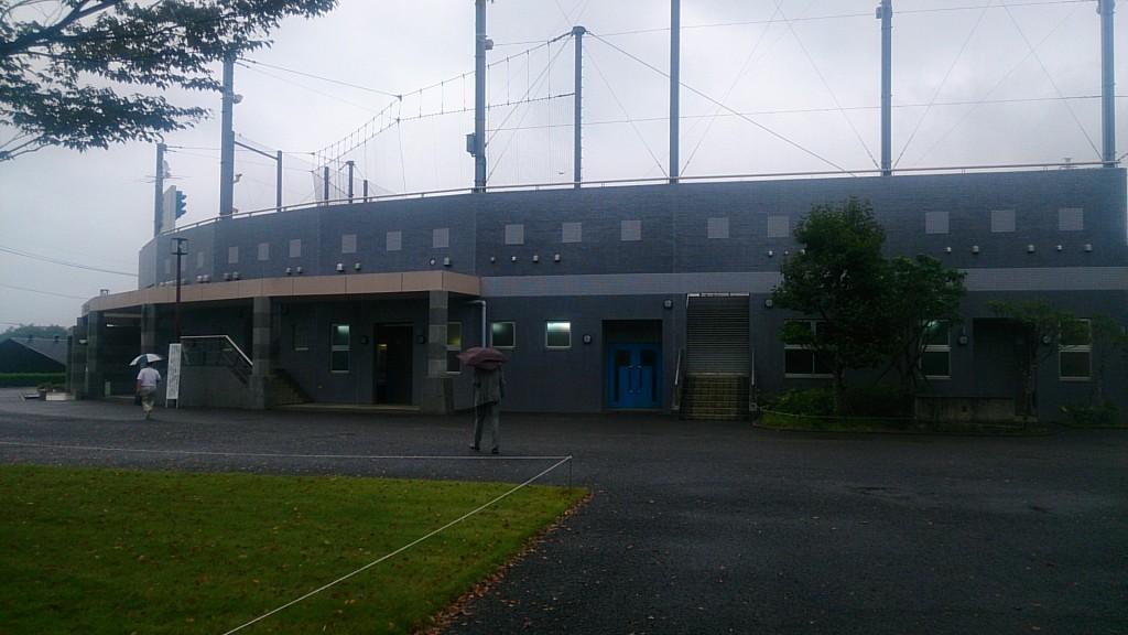 野球場などがある総合運動公園